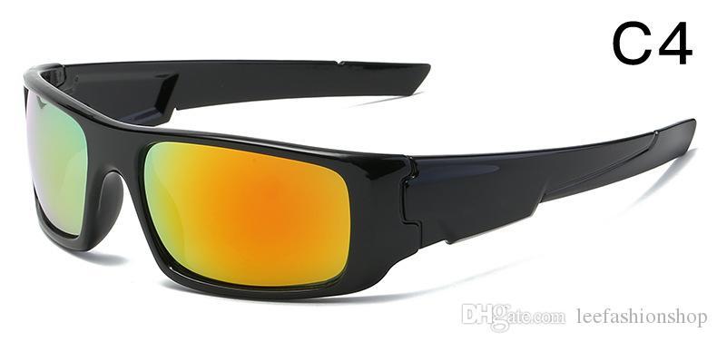 homens esporte virabrequim óculos 2020goggles unisex acetato uv400 óculos de sol para a mulher 6 cores preço de fábrica mais vendido 9239 transporte livre