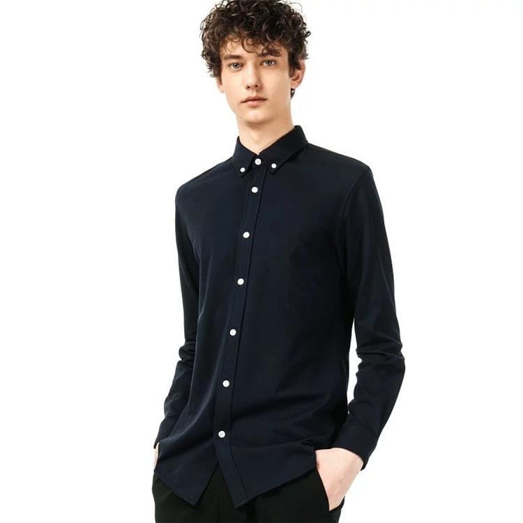 Мужские повседневные рубашки Homme Crocodile Высокое качество 100% хлопок толстые Camisa Masculina мужчины с длинным рукавом платье моды Hombre Chemiss
