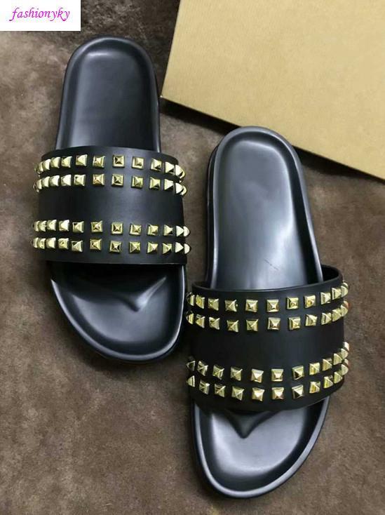 Top Donna piatto pantofole dal design di lusso Red Bottoms Scarpe scatola delle donne del ribattino dei punti piatto shoeswith
