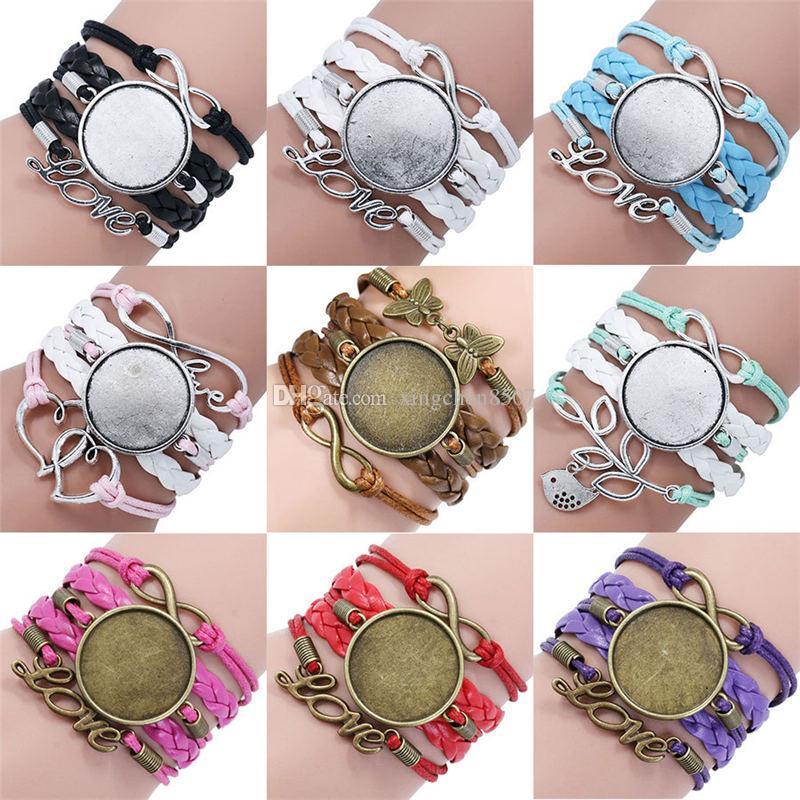 сублимационные заготовки браслеты для женщин термотрансферная печать Многоэтажные женские браслеты ювелирные заготовки расходные заводские цены