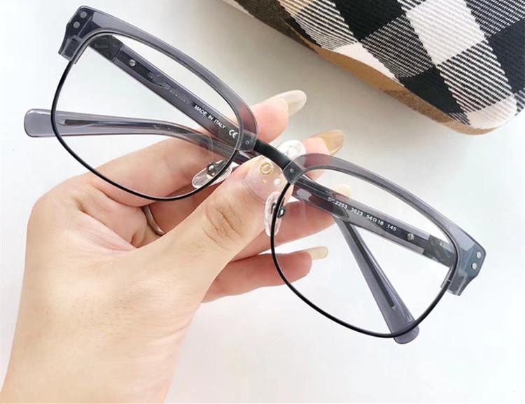 2020 Sterne Retro-Vintage-B2253 Augenbraue eyewear rechteckigen Rahmen unisex für eine Brille mit Full-Set Fall Versand