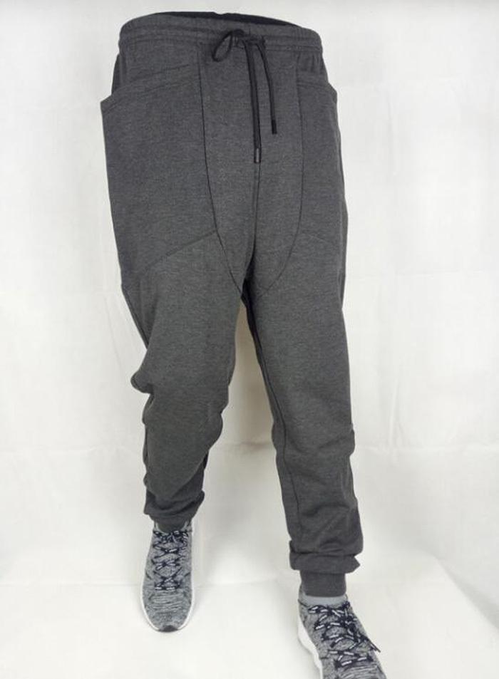 New Casual Harem Pants Athletic Hip Hop Dance Sporty Hiphop Mens Sport Sweat Pants Slacks Loose Long Man Trousers Sweatpants T200324