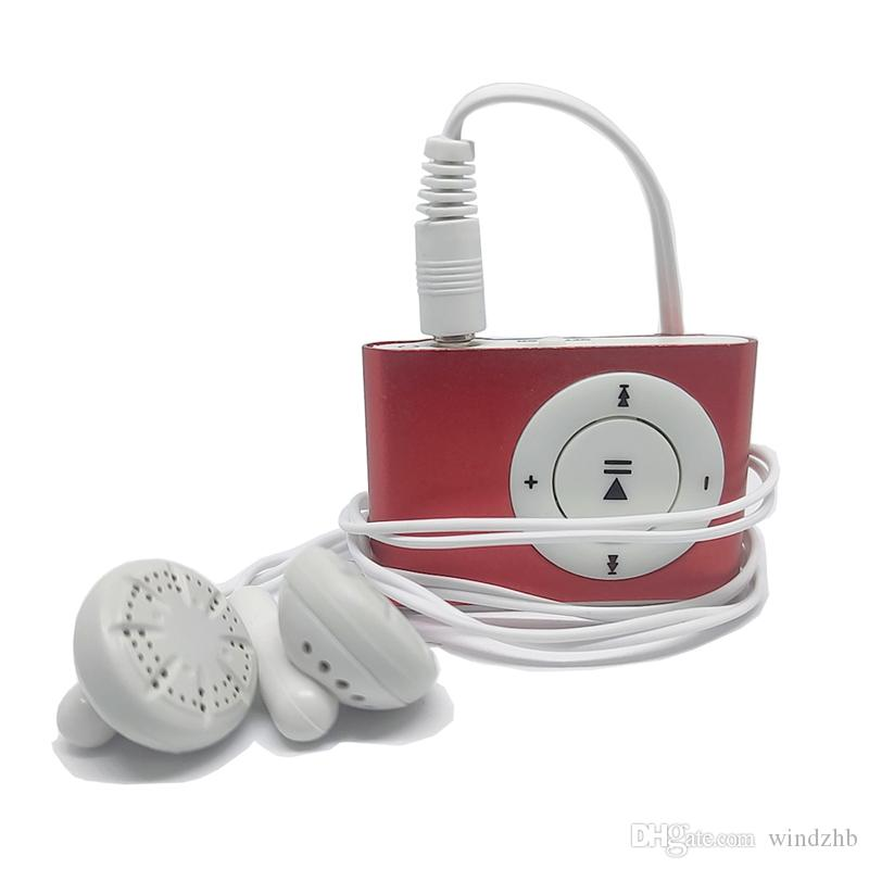 Clip MP3-Player Walkman Metall Sport MP3 wasserdicht tragbare Mini-Lettore Promotion MP3