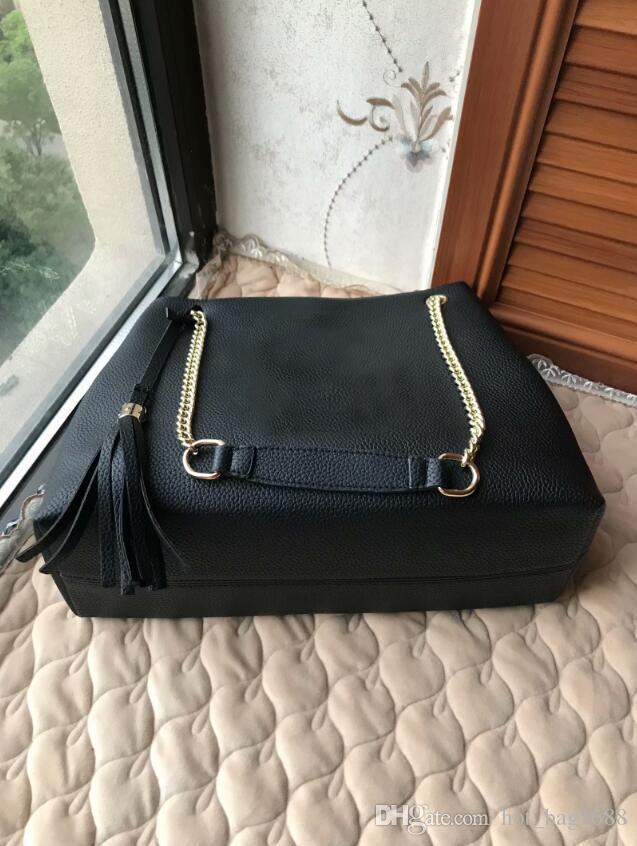 Designs clássicos senhoras bolsas de bolsas de couro de alta qualidade bolsa Boston Boston Bolsa
