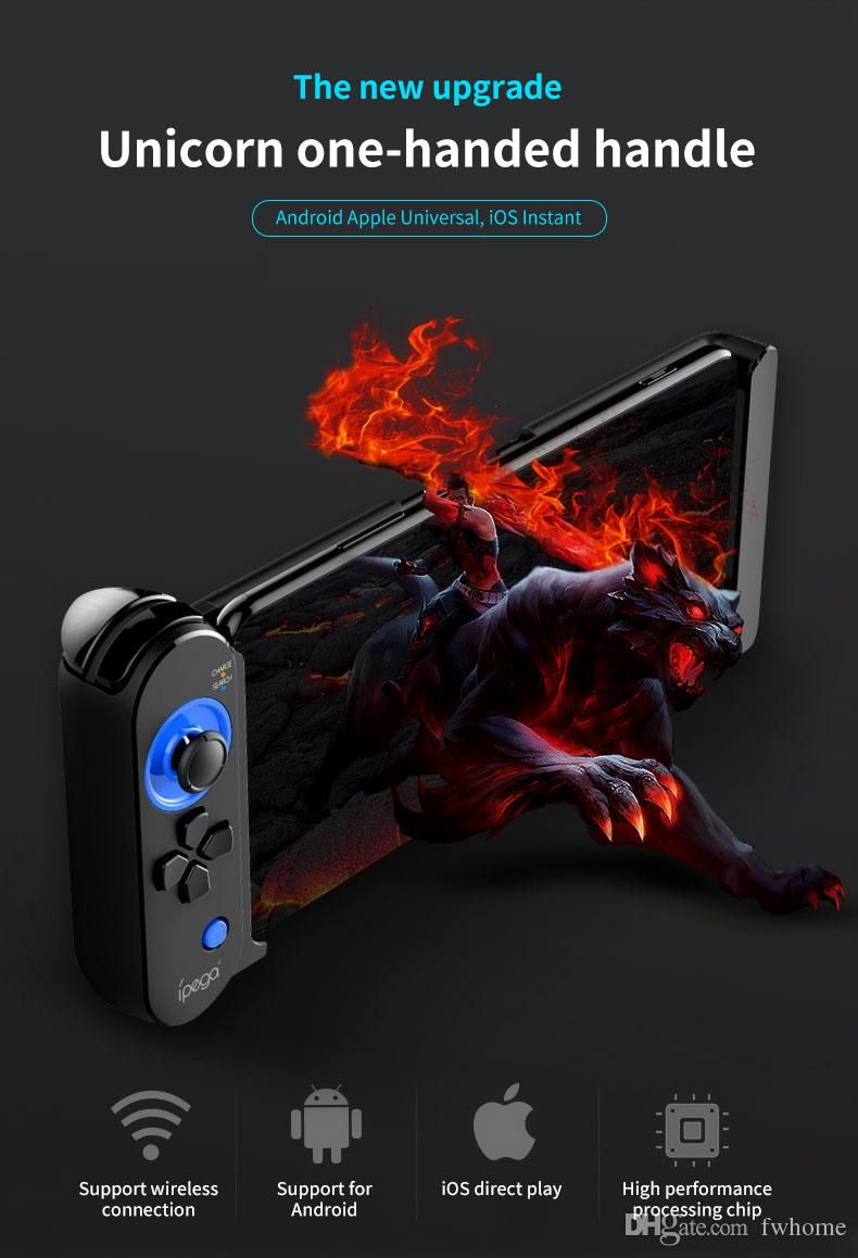 iPEGA PG-9120 Wireless Gamepad Bluetooth Game Controller Smart Game Console For Huawei P30 Pro Iphone Tablet PC TV Box Joystick With Holder