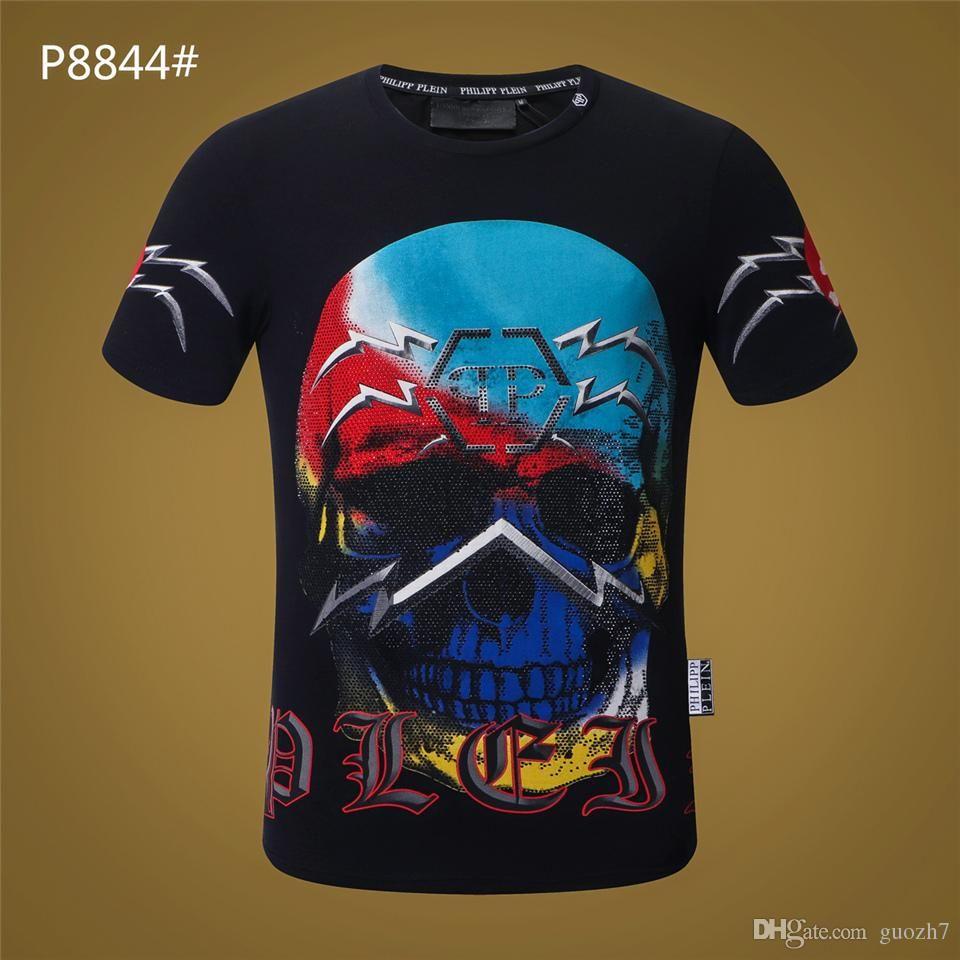Crânio camiseta homens camisa de manga longa diabo engraçado camisetas hip hop impresso camiseta casual hip hop do punk gráfico mens clothing