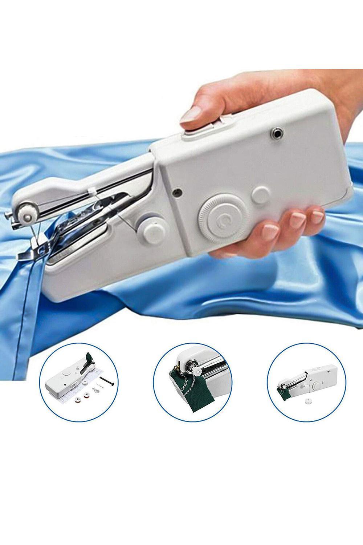 الولايات المتحدة هاندي المالية غرزة محمول الكهربائية ماكينة الخياطة البسيطة المحمولة الرئيسية الخياطة خيارات الجدول باليد واحدة الإبرة اليدوية DIY أداة