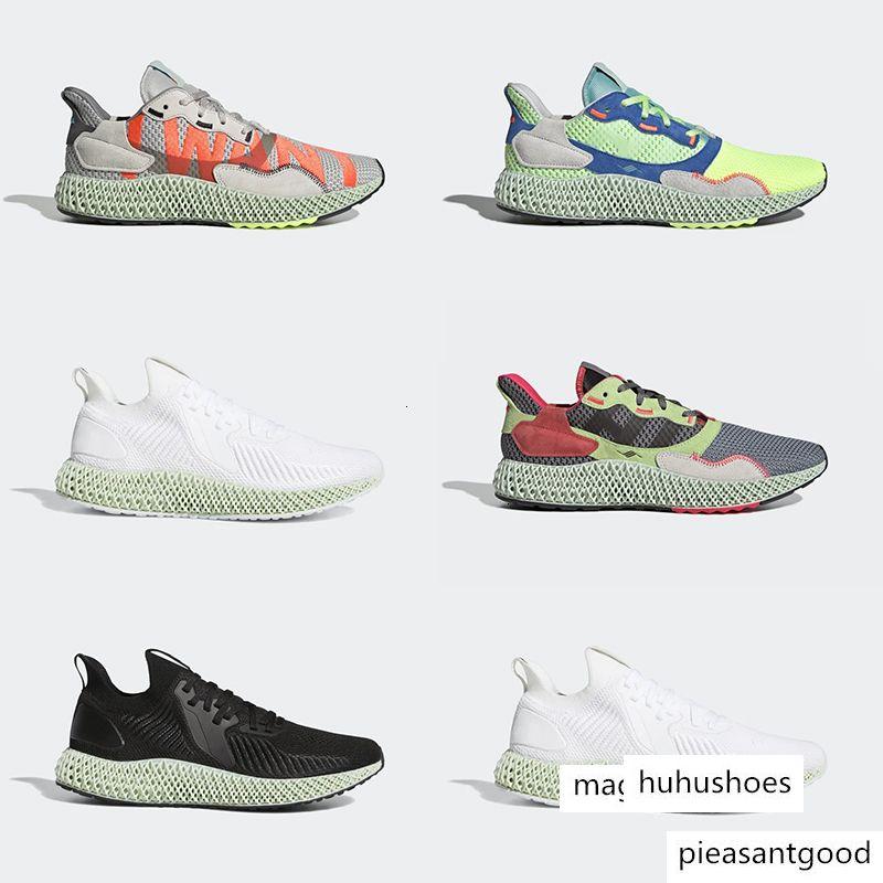 Top qualité New ALPHAEDGE Chaussures ZX 4000 FutureCraft chaussures course pour homme Hommes BD7931 zx4000 Entraîneur Sport Sneakers Taille 36-45