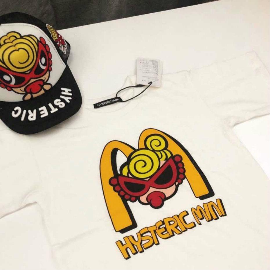بلايز الصيف للأطفال مصمم تي شيرت بنات فاخر الأطفال العلامة التجارية رسالة شخصية طباعة كم قصير القميص عادية بيع الساخن الأعلى