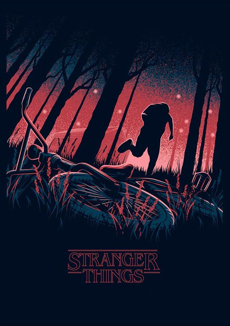 Art Print Poster Canvas Stranger Things New TV Series Silk