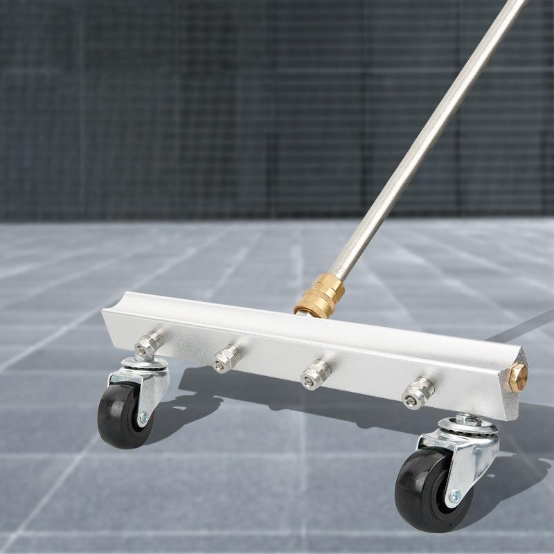 High Pressure Water-Gun Cleaning Car Body Chassis Car Washing Machine Bottom Water Washing Machine 4 Nozzle Cleaning Kit
