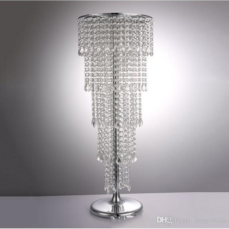 39Inch height silver gold Acrylic Wedding table Centerpiece Flower Stand Flower Rack Wedding Party Decorations supplies