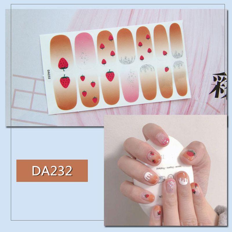 Новая мода девушка женщин оптовых ногти наклейка Полных наклейки водонепроницаемых ногти Различные типы Один отрывных 2019 Art M3