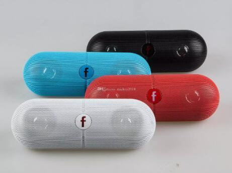 حبوب منع الحمل XL بلوتوث المتكلم مصغرة بروتابلي اللاسلكية موسيقى ستيريو صندوق الصوت الصوت سوبر باس يو القرص TF فتحة السفينة حرة