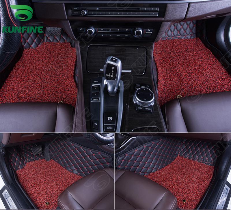 3D Car Tapis de sol pour tapis de pied de voiture AVEO avec une couche Thermosol bobine jambière gauche main doublure style du conducteur