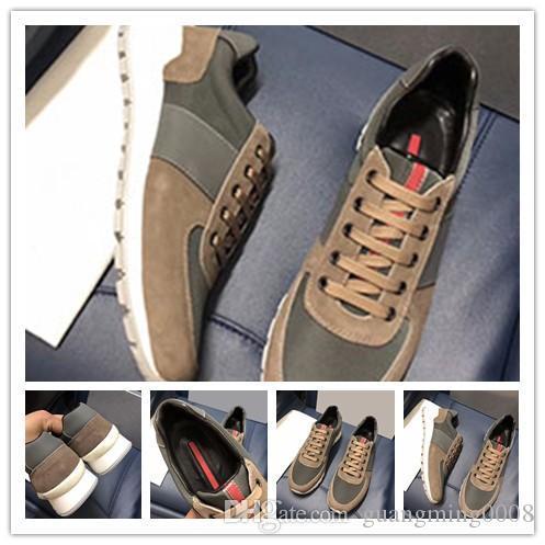 Nuevo diseñador de zapatos unisex colores mezclados el hombre casual raza del corredor de mujer de los zapatos Marca Kanye punta estrecha escotado de la zapatilla de deporte barato 0z96