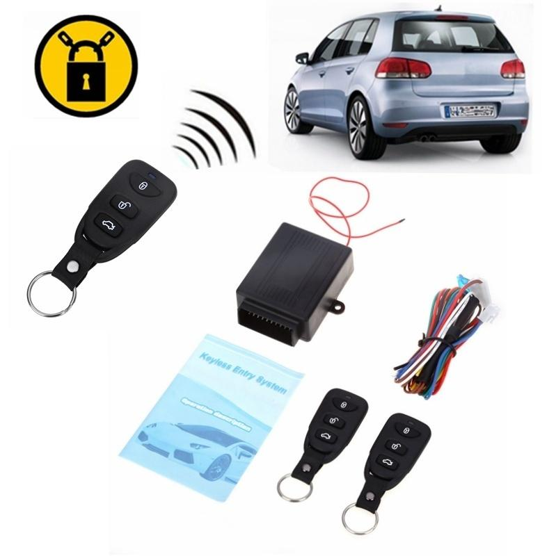 20Pcs/Lot 433.92MHz Universal Car Auto Vehicle Remote Central Kit Door Lock Unlock Window Up Keyless Entry System ( Black )