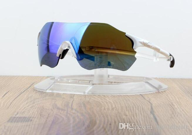 EV ZERO Motion Goggles Bicycle Polarizing Riding Protective Glasses Outdoor Fashion Three Lens Unisex Eyewear Hot Sale