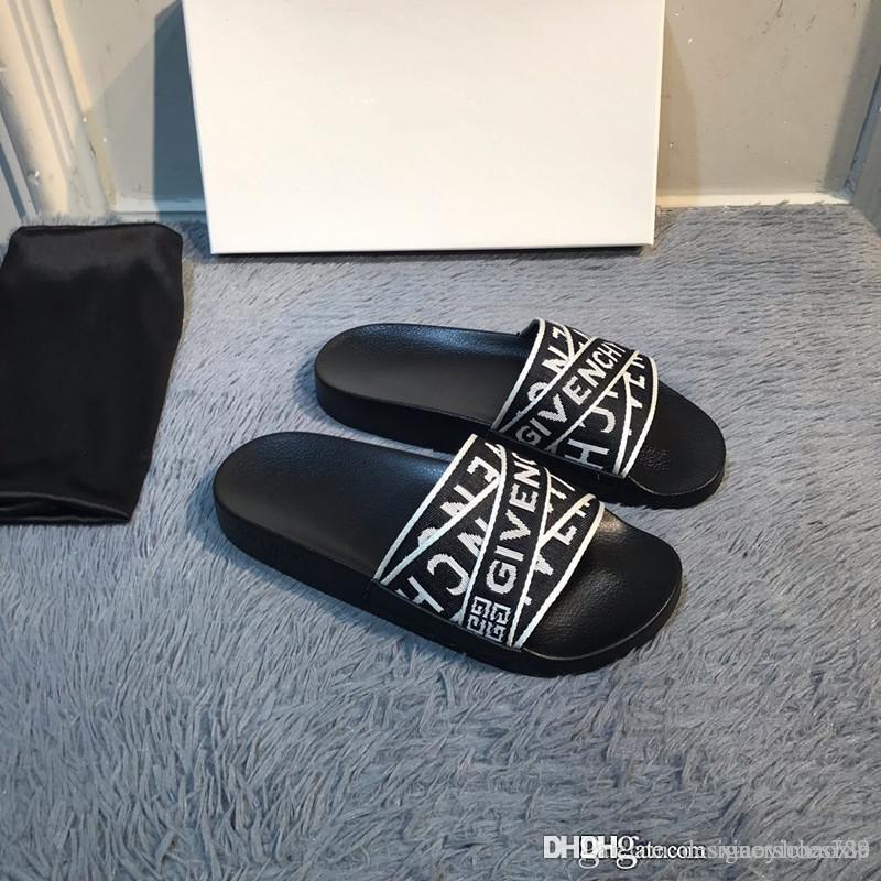 Weisefrauensandelholze Espadrilles Plattform Sandalen Männer Schuhe Damen flache Flip-Flops Zehensandale mit Box