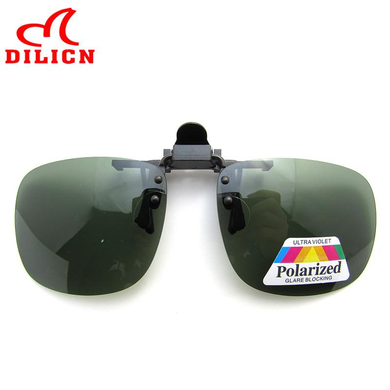 Polarized Clip On Glasses Sunglasses Men 2019 Rimless Clip Sun Glasses Women Square Clip-On Driving Glasses UV400 Oculos