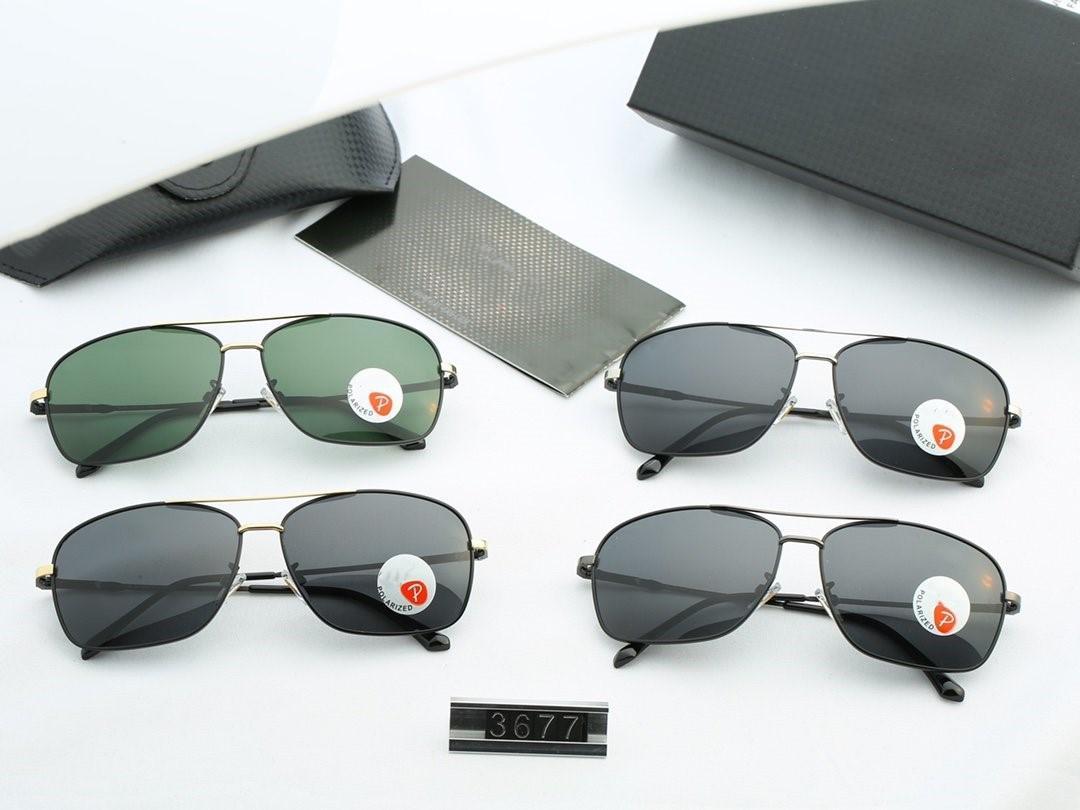 Diseño de marca 2020 caliente venta medio marco gafas de sol de las mujeres Gafas de sol hombre gafas de conducción UV400 Gafas gota envío 3677 al aire libre