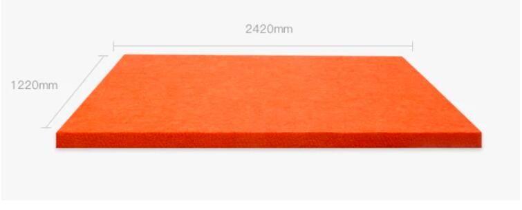 Панель потолка Rudection шума акустической пены панели полиэфирного волокна офиса