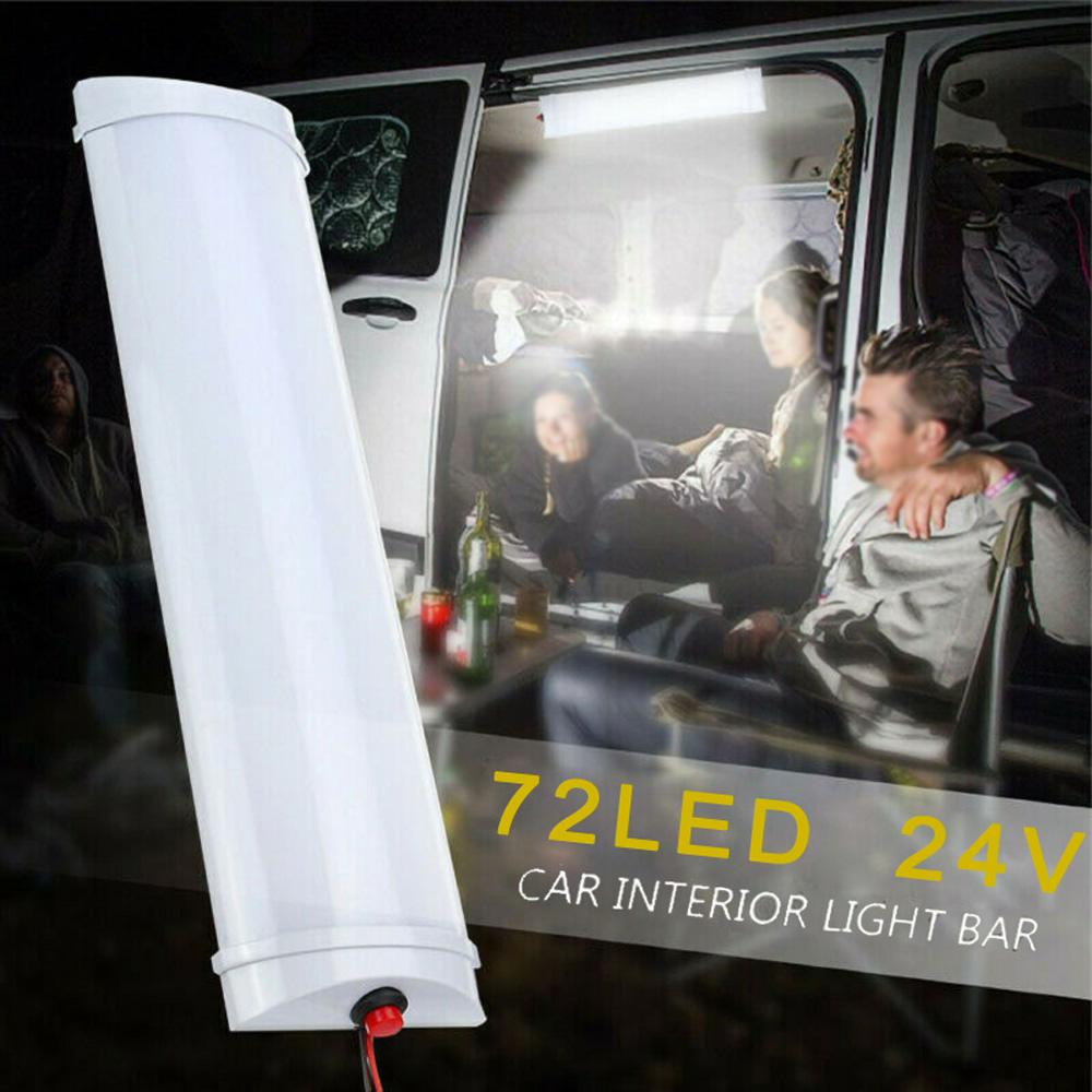 72 LED Car Vehicle Dome Roof Ceiling Interior Reading Light Lamp DC 12V  6500K