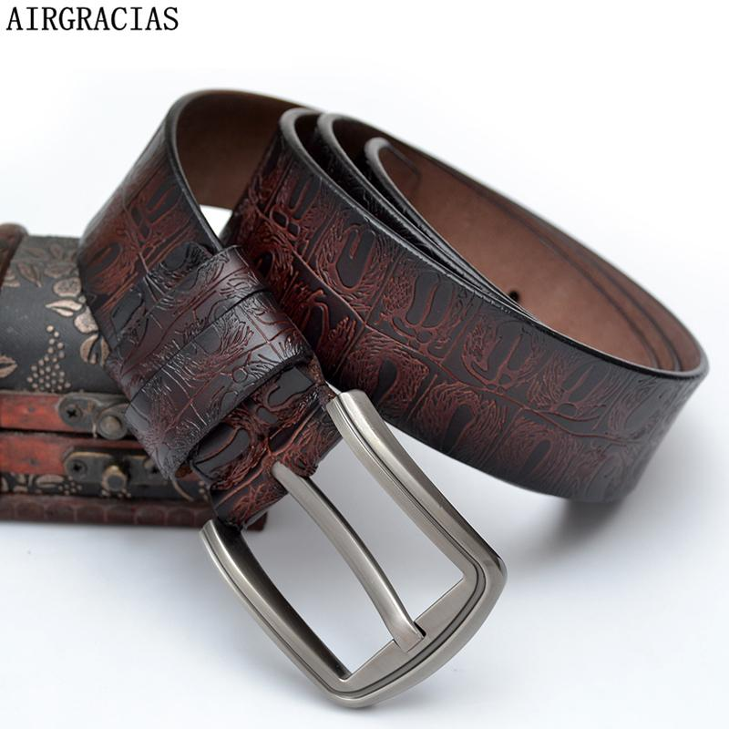 Diseñador Cinturón AIRGRACIAS directo de fábrica para las mujeres nuevas de la manera de la correa unisex de alta calidad de las correas de cuero genuino para las mujeres