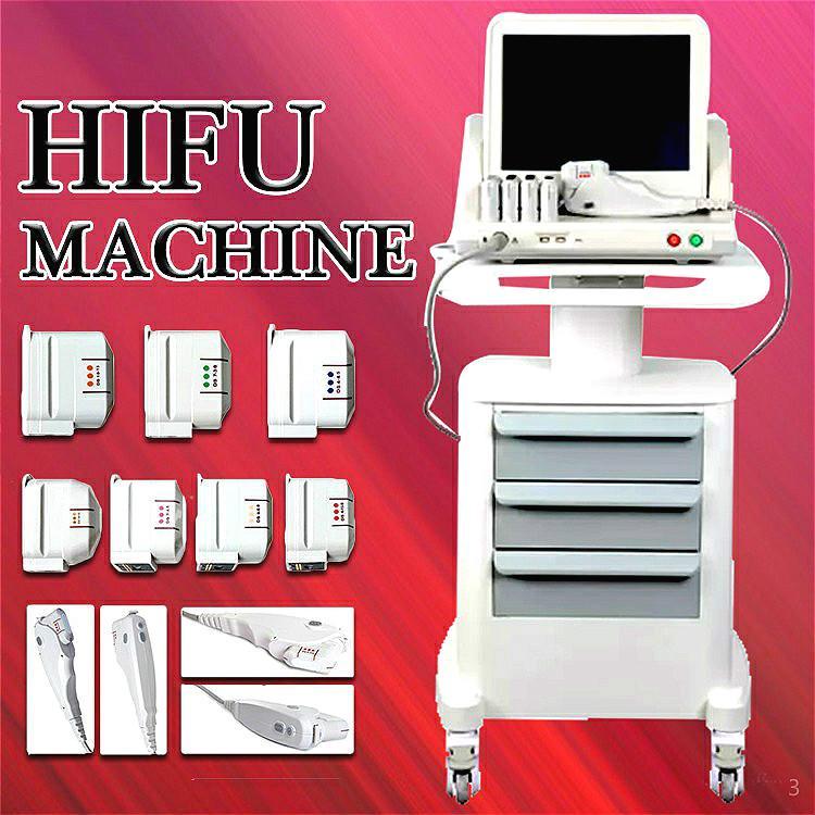 2020 En Popüler 3D HIFU Makinesi Yüz Germe Kırışıklık Kaldırma Yüz Makine Yağ Azaltma vücut zayıflama HIFU Makinesi Ücretsiz Kargo