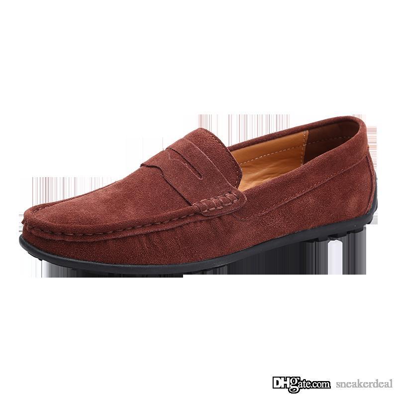 Designer Original-Kleid-Schuh-neue Art und Weise Freizeit Fahren Schuh Klassische Peas Schuhe Herren Schuhe mit Kasten