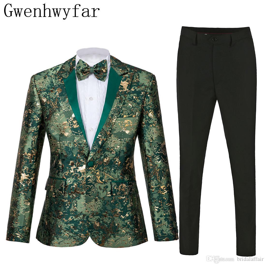 Neue Stil Groomsmen Stilvolle Peak Revers Bräutigam Smoking Armee Grün Männer Anzüge Hochzeit Trauzeuge Blazer (Jacke + Pants + Tie)
