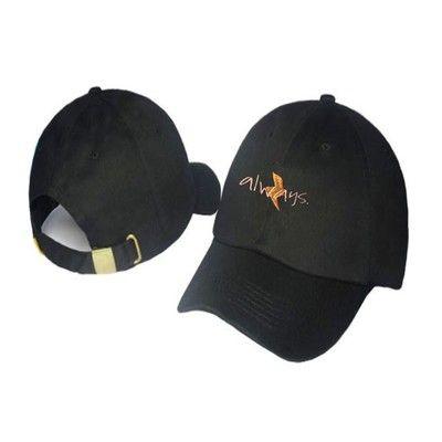 2020 Nouveau toujours broderie casquettes personnalité broderie chapeau hommes et femmes couple baseball en gros