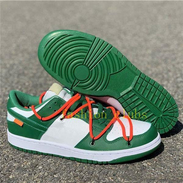 2019 Futura x Sb Dunk Low OFF basteball Shoes женщины мужские дизайнерские кроссовки скейтборд зеленый Dunks des Chaussures Taquets size36-44