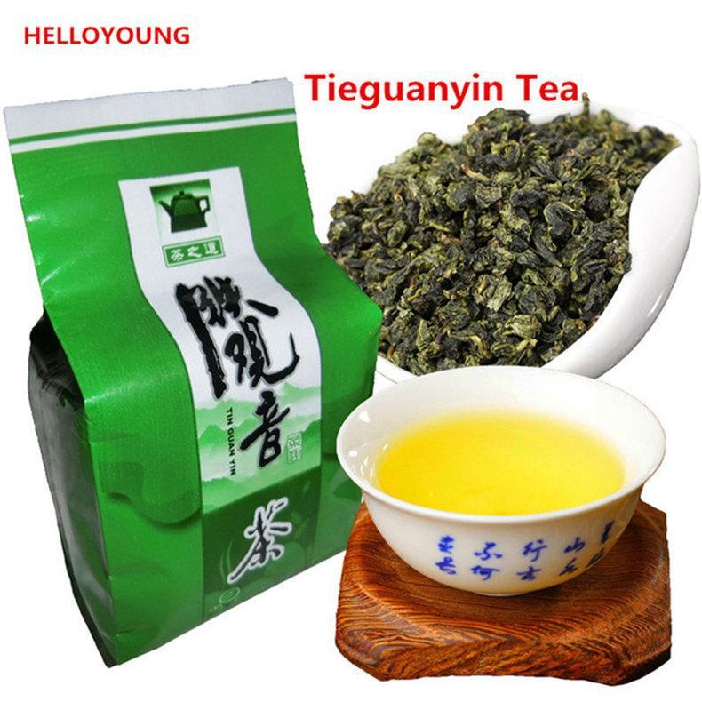 50г китайский органический улун чай Tieguanyin anxi галстук Гуань Инь зеленый чай высокая стоимость-эффективное Tikuanyin чай предпочтительнее