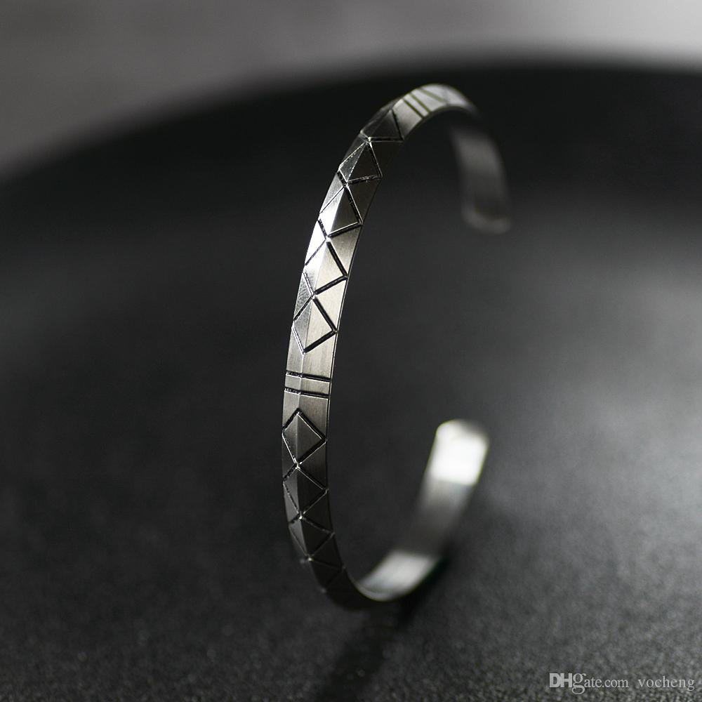 نورس فايكنغ futhark سوار الرجال المجوهرات الاسكندنافية الفايكنج باقان رمز للنساء دروبشيب المجوهرات SS-104