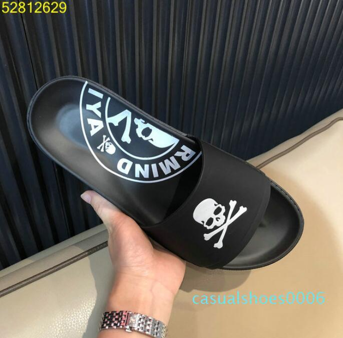 Fashion slide sandals slippers for men WITH ORIGINAL BOX mastermind JAPAN PARIYA men slipper AC06