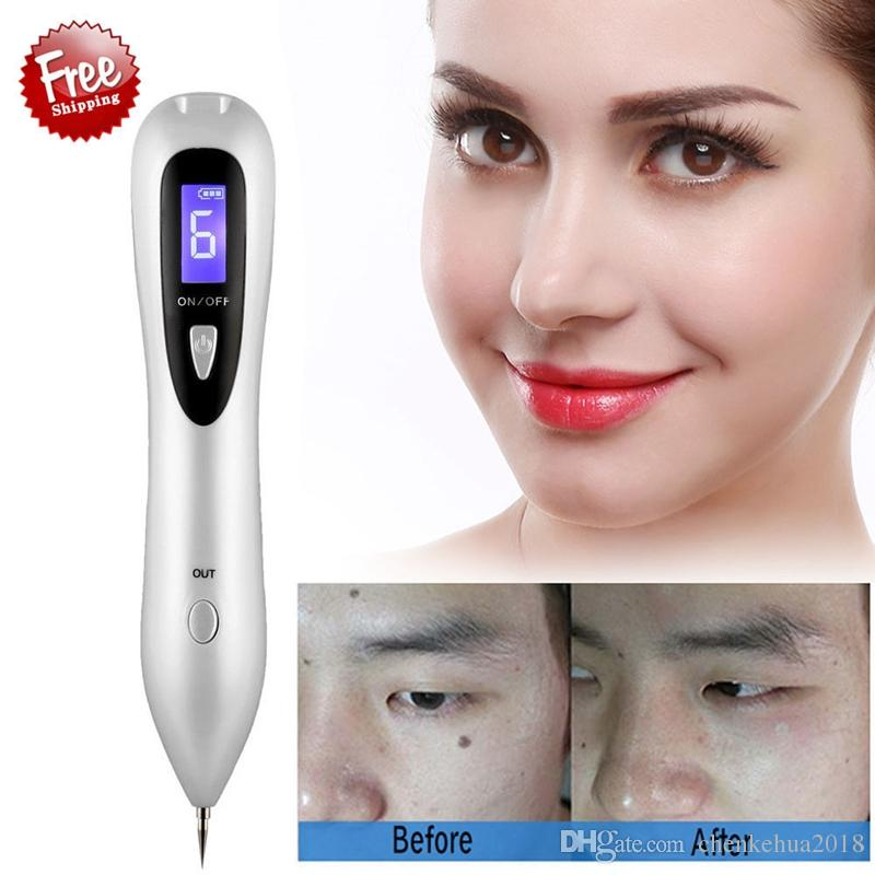 Écran LCD Stylo Plasma Tatouage Taupe Enlèvement de tache pour enlever les taches sombres sur les étiquettes de peau pour le corps, pour le visage