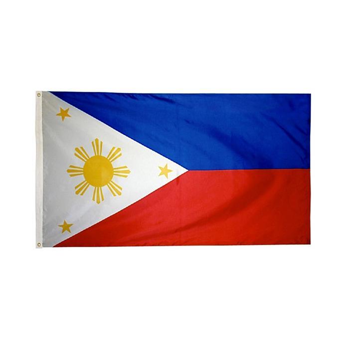 3x5 Filipinas-flags, hacer su propio diseño, al aire libre Uso cubierta con doble costura Digital Impreso de poliéster, envío libre