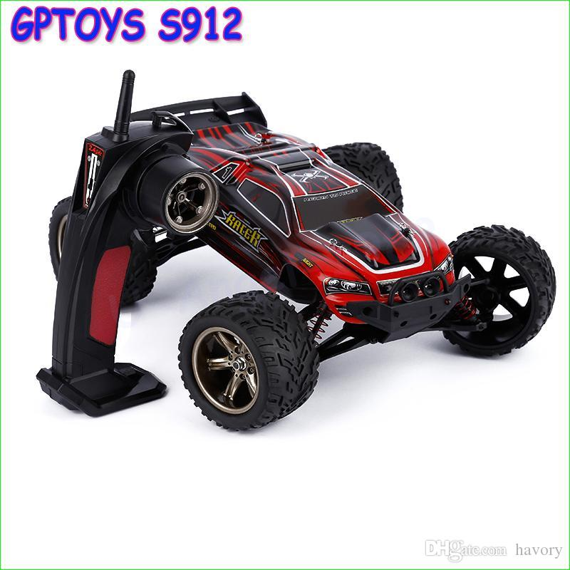 Wholesale- 1pcs Lechuan S911 1:12 models RC Remote Control Car Styling Carrinho de Controle Remoto Bigfoot speed model Gasoline SUVs