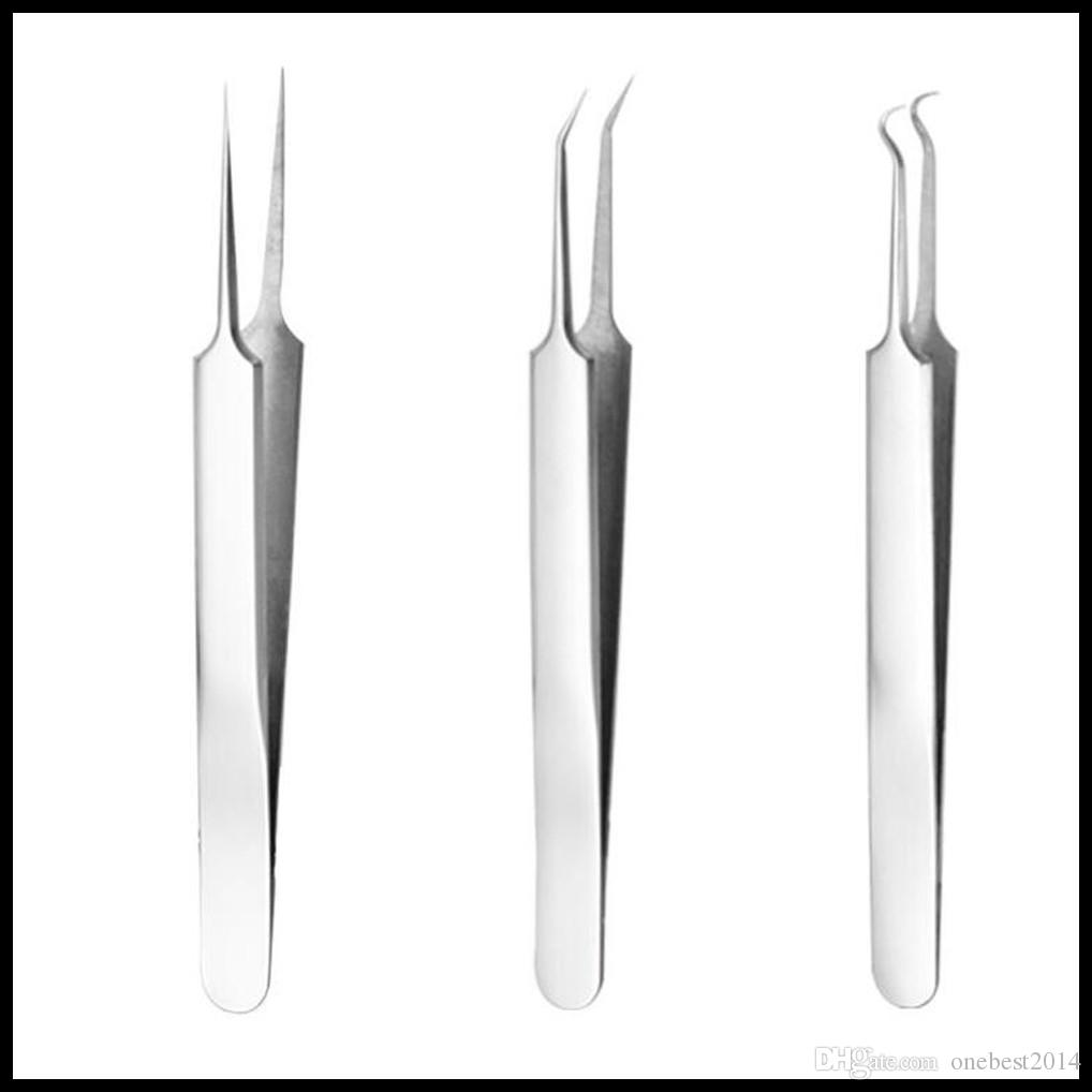 EPACK Acne Nose Blackhead Remover White Head Black Head Tool Pimple Comedone Extractor Skin Care Acne Removal Needle Stainless Steel