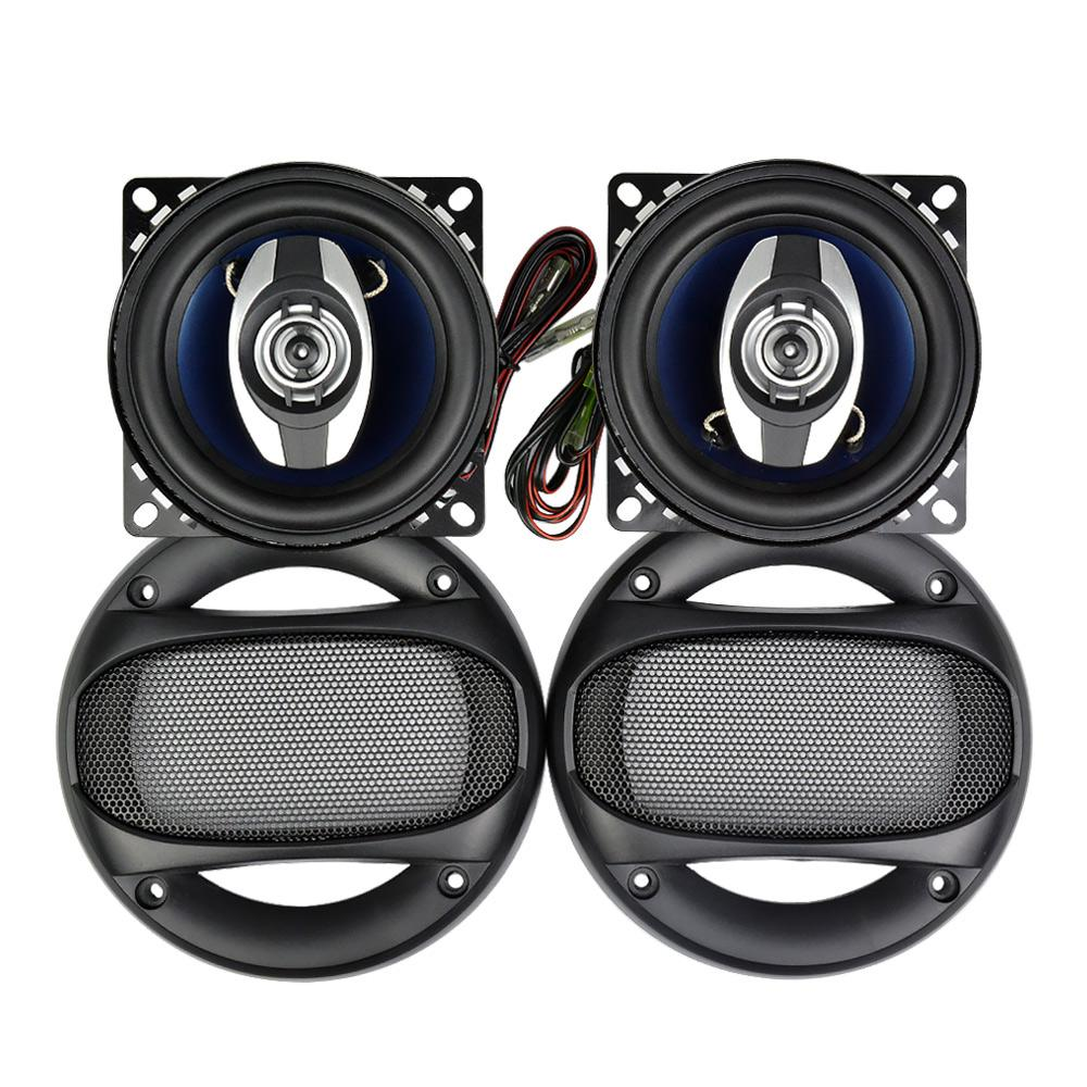 Car Speaker System >> 4 Inch Car Speakers 4ohm 280w 2 Ways Car Coaxial Speaker For Vehicle Tweeter Stereo Music Sound System Highly Sensitive Vehicle Sound Systems Vehicle