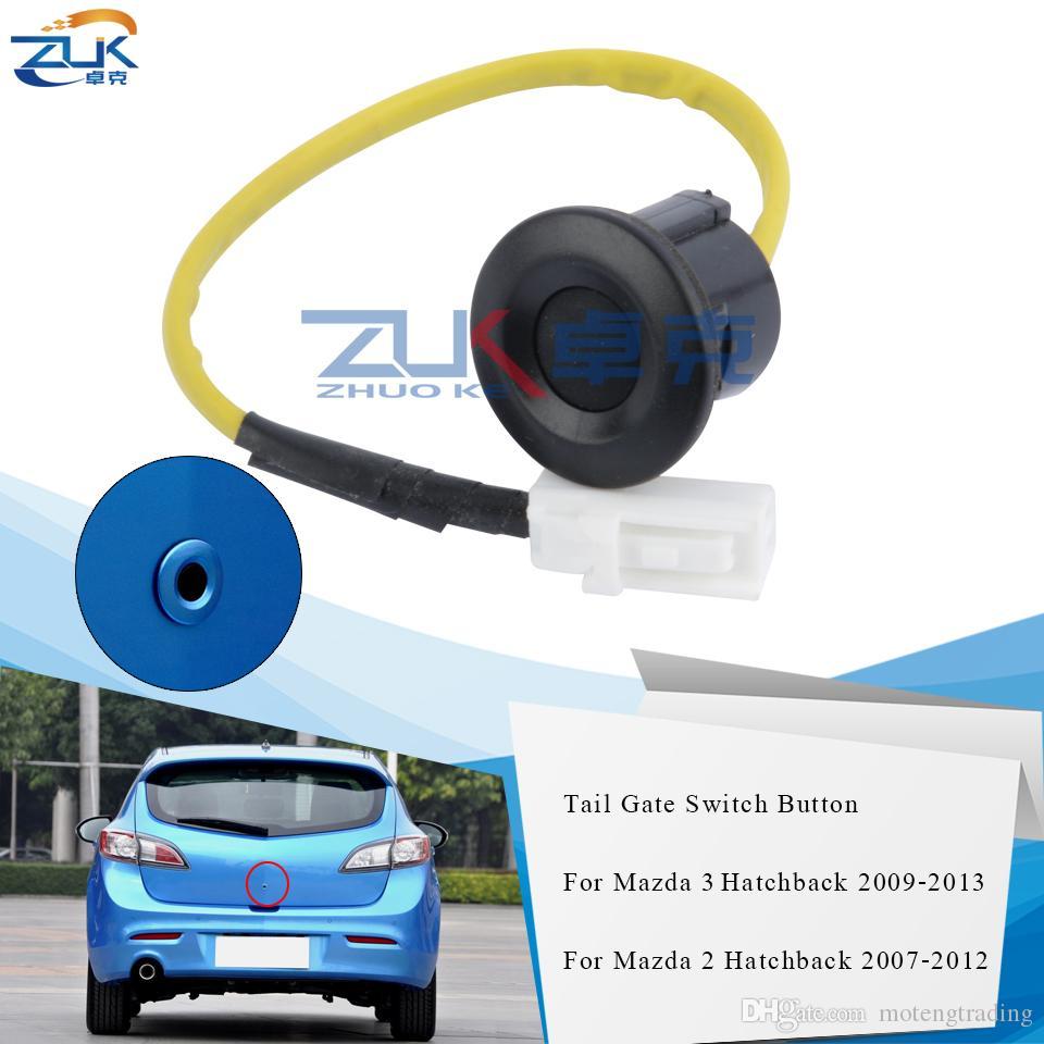 ZUK coda cancello Sblocco Interruttore Trunk porta Tasto di blocco Interruttore per Mazda 2 3 M2 M3 2007 2008 2009 2010 2011 2012 Hatchback