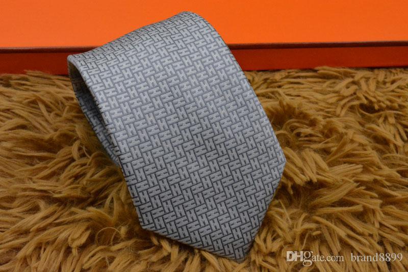 carta Hombres Nuevos Estilos Lazos corbatas Partido moda de la boda del lazo de seda para hombre hecho a mano corbata Italia 8 estilo de negocios corbata a rayas H602
