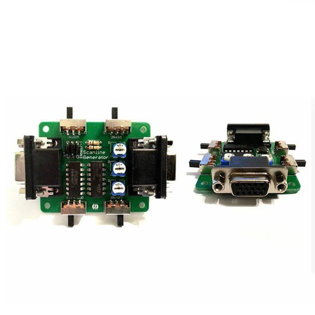 MR-C031 Video Output Image Scan Line Generator video image display effect for MD/PS/XBOX for LCD arcade game machine