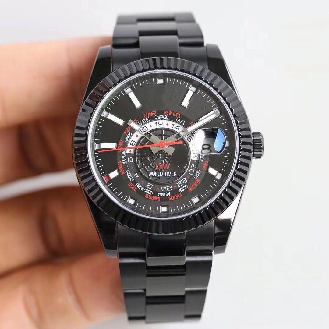 Новое высокое качество, мужской стиль, импортированная тонкая сталь, 40 мм х 9,5 мм, дизайнерские часы, сапфировое стекло