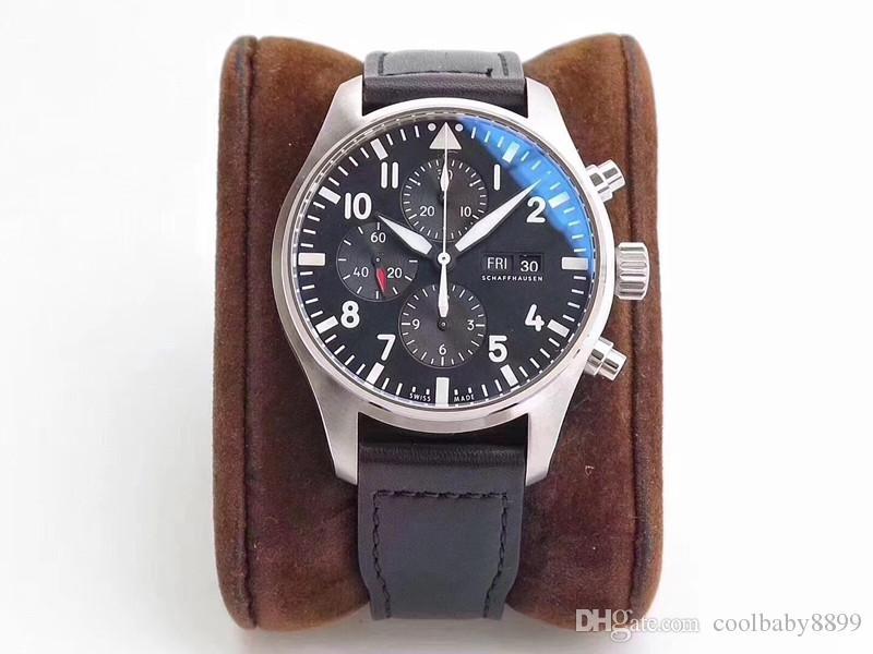 das ZF 43mmX15mm homens 7750 Movimento impermeável relógio de luxo Drand relógios automático do relógio Relógios de lujo Pará hombre