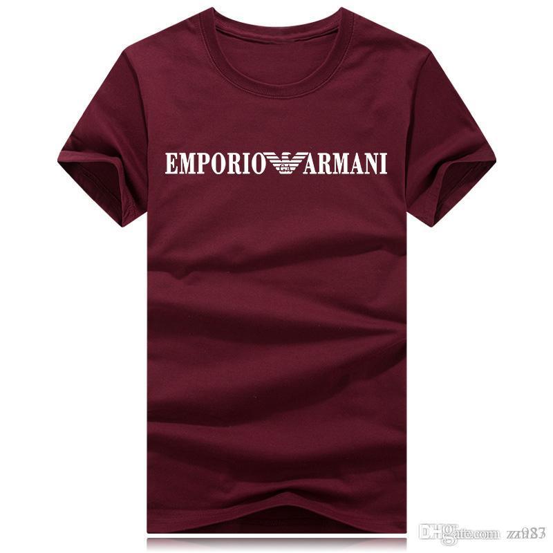 Marca de moda diseñador de la camiseta Camiseta para hombre Pareja Deporte Tide ropa camiseta de Hip Hop Harajuku Camiseta Ropa