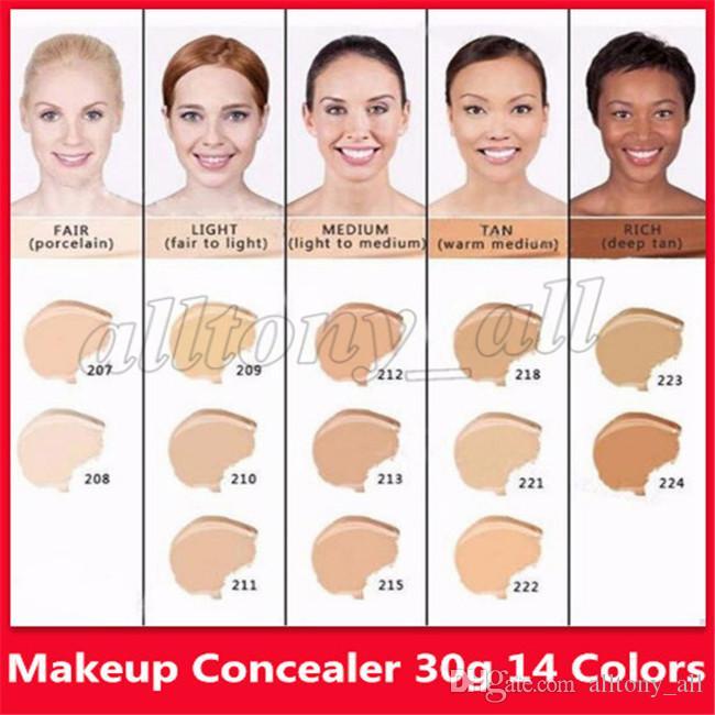 Crème de base couvrante pour le maquillage et le correcteur D Maquillage 30g Version limitée à 50 ans Anniversaire Cosmétique 14 couleurs Livraison directe