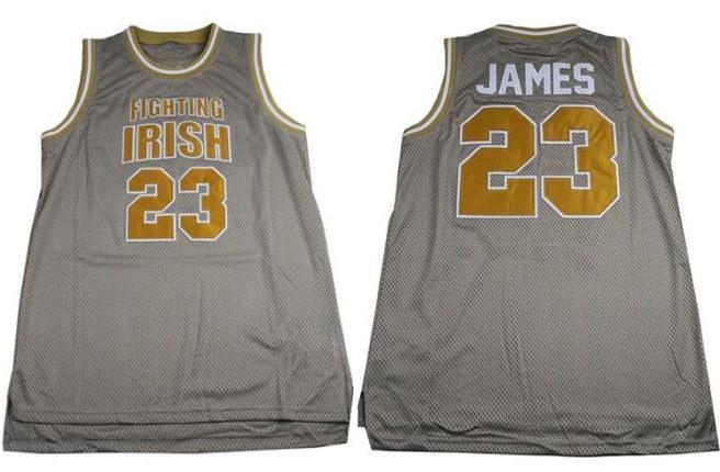 Custom Mens Lebron #23 High School Basketball Jersey