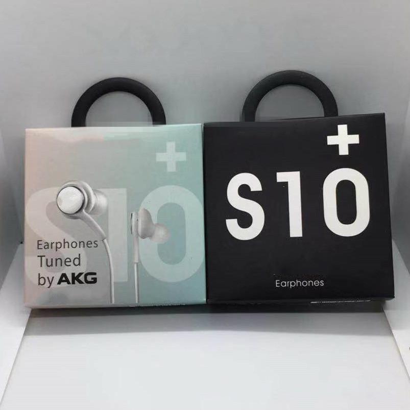 2020 auriculares de alta calidad OEM S10 auriculares Bass auriculares estéreo de auriculares de sonido con control de volumen para el S8 S9 en el recuadro